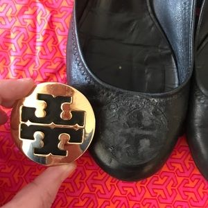 Tory Burch Shoes - Tory Burch Black Amy Heels Pumps 9.5